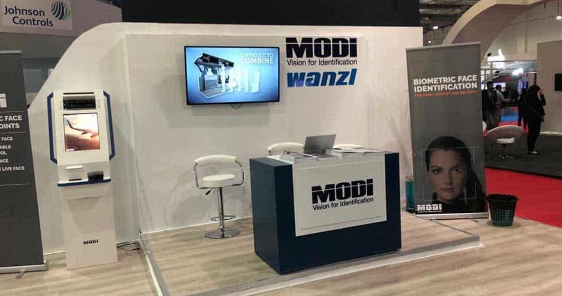 MODI Vision booth ICT 2018