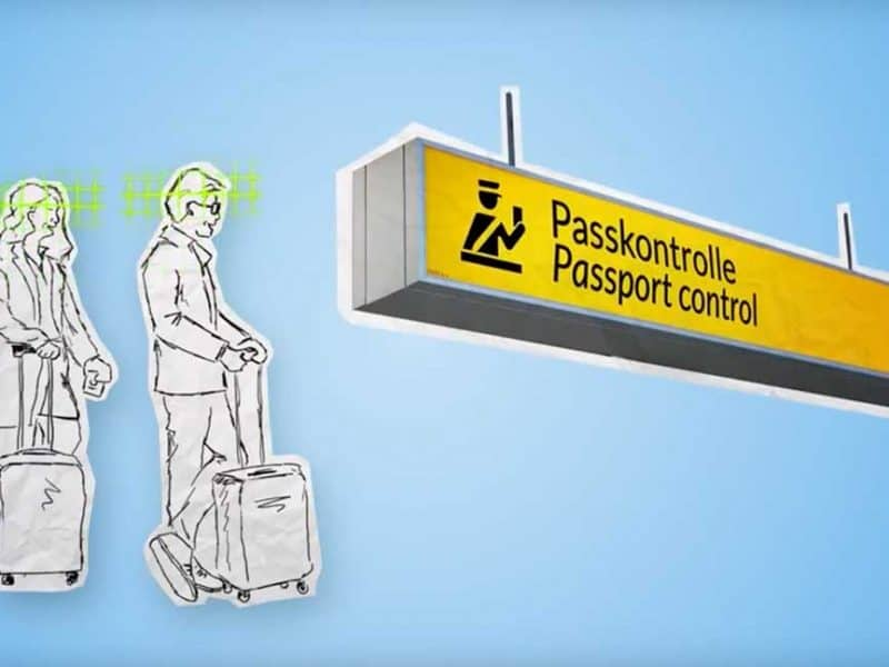 What is the paperless airport