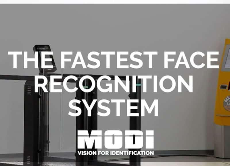 Biometrische Gesichtserkennung an Gates